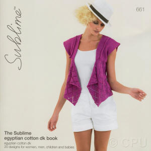 The Sublime egyptian cotton dk Book