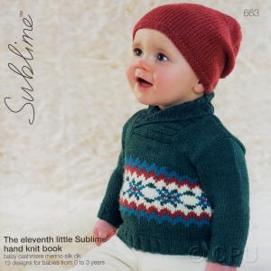 The eleventh little Sublime hand knit Book