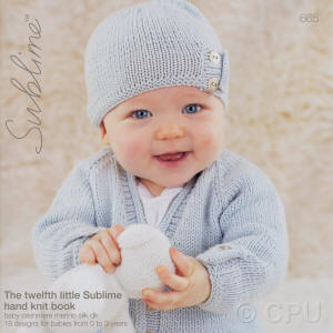 The twelfth little Sublime hand knit Book
