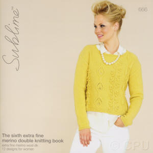The sixth extra fine merino double knitting Sublime Book