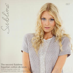 The second Sublime Egyptian cotton dk Book