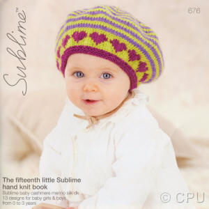The fifteenth Little Sublime Hand Knit Book