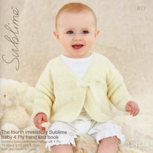 The fourth irresistibly Sublime baby 4 ply Book