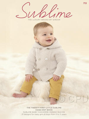 The twenty first little Sublime hand knit Book