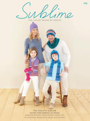 The twelfth Sublime extra fine merino dk Book