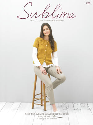 The first Sublime Willow design Book
