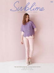 The second Sublime Elodie design Book 724 - Click HERE to view some of the patterns in this Book