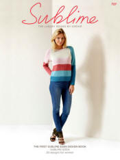 The first Sublime Eden design Book 727 - Click HERE to view some of the patterns in this Book