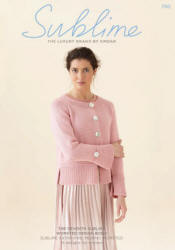 The seventh Sublime worsted design Book 730 - Click HERE to view some of the patterns in this Book