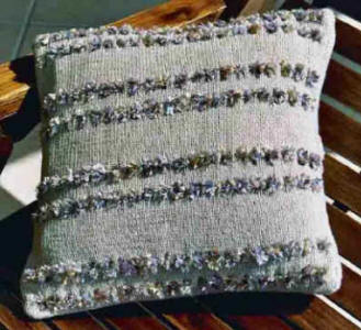 Eyelet Cushion Cover Front