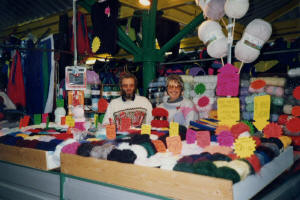 Dianne's Knitting Yarns First Market Stall (1985)