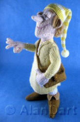 Sandman knitted toy