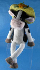 Hattie Holstein knitted toy