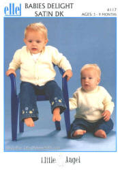 elle Babies Delight Satin DK Patterns