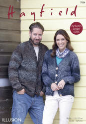 Hayfield Illusion Double Knit Patterns