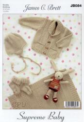 James C.Brett Baby Supreme Soft and Gentle DK Patterns