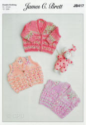 James C.Brett Baby Pretty Print DK Patterns