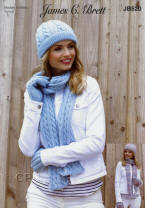 Knitted Hats, Scarves and Gloves