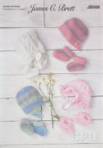 Baby Hat and Bootee Sets