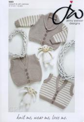 Jenny Watson Babysoft DK yarn with Cashmere Patterns