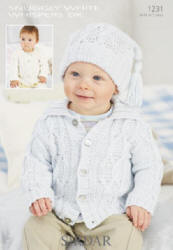 Sirdar Snuggly White Whispers Double Knit Patterns
