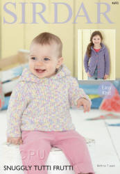 Sirdar Snuggly Tutti Frutti Patterns