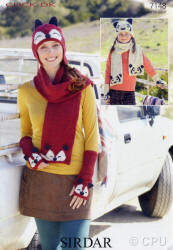 Sirdar Click Double Knit Patterns