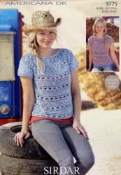 Sirdar Americana Double Knit Patterns