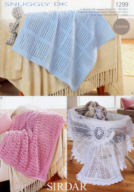 Sirdar Snuggly Double Knit Pattern Leaflets
