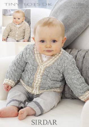 Sirdar Tiny Tots Double Knit Pattern Leaflets