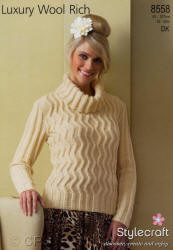 Stylecraft Luxury Wool Rich Double Knit Patterns