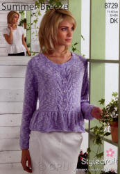 Stylecraft Summer Breeze Double Knit Patterns