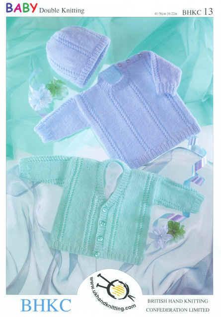 Ladies dresses knitting pattern in DK short or long sleeves.
