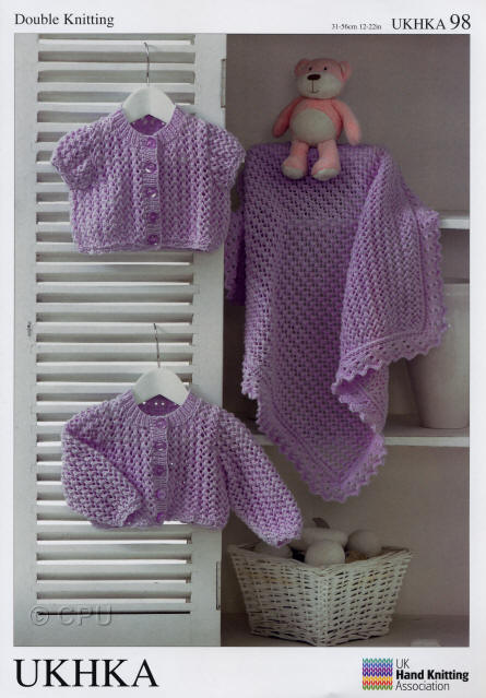 Ukhka Knitting Patterns : Ukhka double knit pattern leaflets bhkc