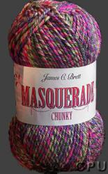 James C. Brett Masquerade Chunky yarn