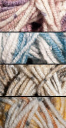 James C. Brett Rustic Chunky yarn