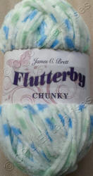 James C. Brett Flutterby Chunky yarn