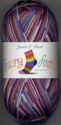 James C.Brett Funny Feetz 4 ply yarn