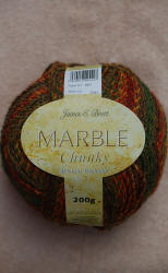 James C.Brett Marble Chunky yarn
