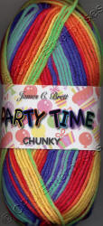 James C. Brett Party Time Chunky yarn