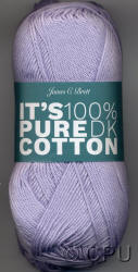 James C. Brett It's Pure Cotton Double Knit yarn