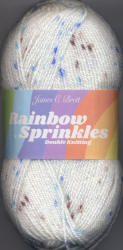 James C.Brett Rainbow Sprinkles Double Knit yarn