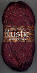 James C. Brett Rustic Mega Super Chunky yarn