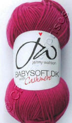 Jenny Watson Babysoft DK yarn with Cashmere yarn