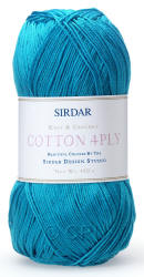 Sirdar Cotton 4ply yarn