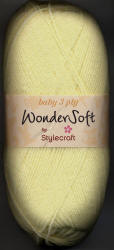 Stylecraft Wondersoft 3ply yarn