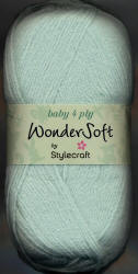 Stylecraft Wondersoft Baby 4ply yarn