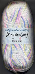 Stylecraft Wondersoft Mix Prints Double Knit yarn